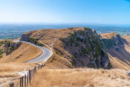 Te Mata peak near Hastings, New Zealand