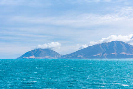 Coastline of North Island of New Zeland
