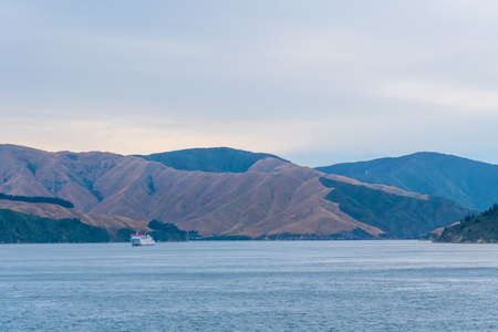 Queen Charlotte sound at South Island of New Zeland