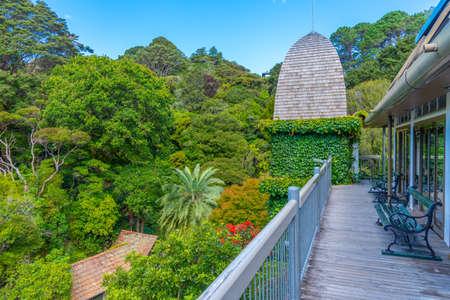 Wellington Botanic Garden Treehouse in New Zealand