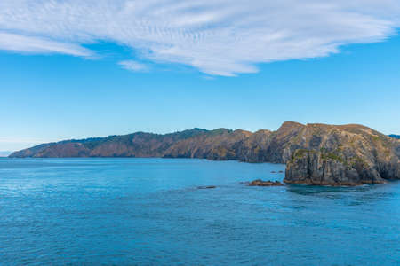 Northern coast of South Island of New Zeland