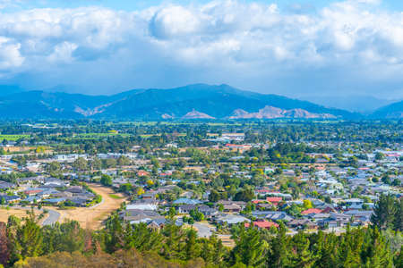 Aerial view of Blenheim in New Zealand Reklamní fotografie