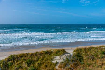 Saint Kilda beach in Dunedin, New Zealand