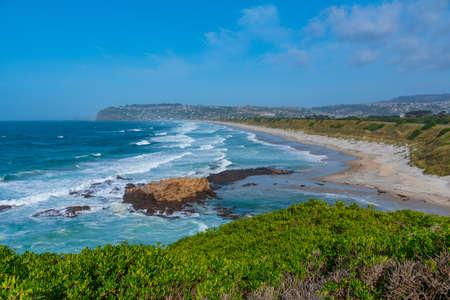 Saint Claire, Saint Kilda and Lawyers Head Beaches in Dunedin, New Zealand