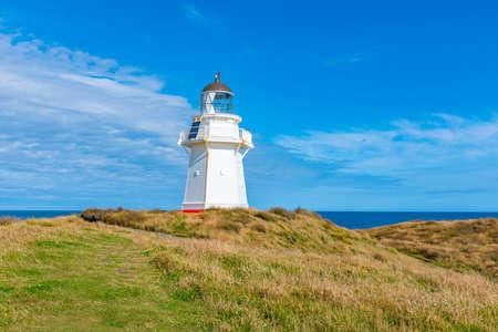 Waipapa lighthouse in New Zealand