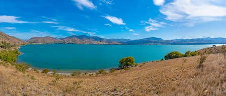 Lake aviemore in New Zealand