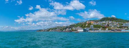 Marina in Wellington, New Zealand