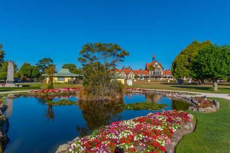 Rotorua museum in New Zealand Editorial