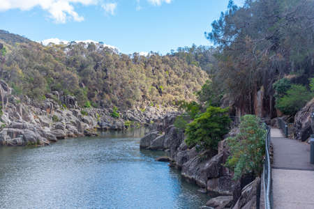 Cataract Gorge Reserve at Launceston in Tasmania, Australia