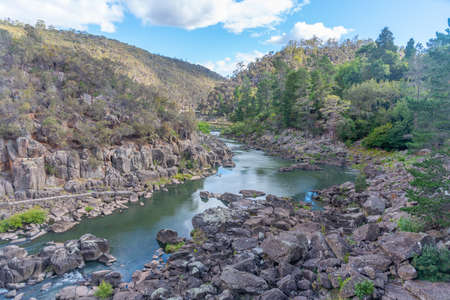 Cataract Gorge Reserve at Launceston in Tasmania, Australia
