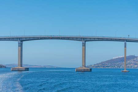 Tasman bridge in Hobart, Australia