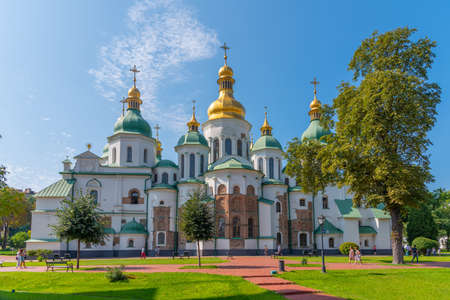 Cathedral of Saint Sophia in Kyiv, Ukraine