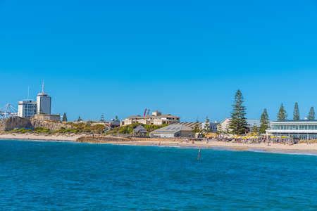 Roundhouse behind bathers beach in Fremantle, Australia
