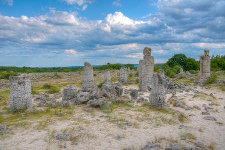 Stone Forest near Varna, Bulgaria