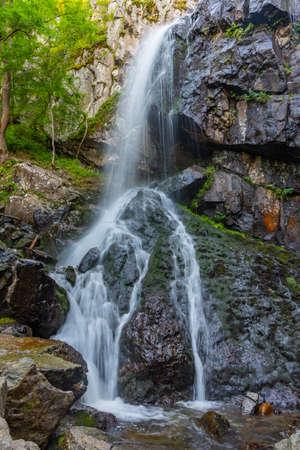 Boyana waterfall at Vitosha mountain in Bulgaria