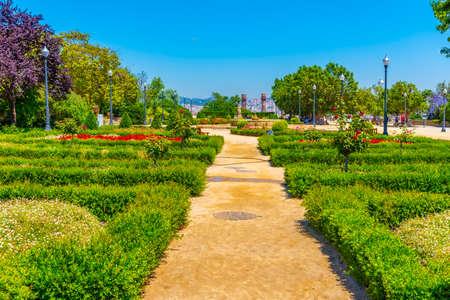 Jardins del Mirador in Barcelona, Spain
