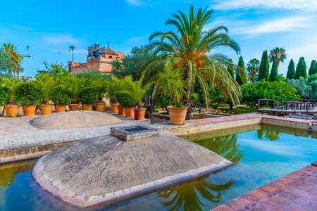 Bath at Alcazar castle at Jerez de la Frontera in Spain