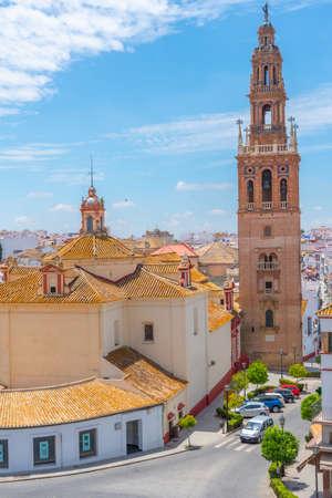 Church of San Pedro in Spanish town Carmona