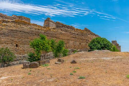 Castle in spanish town Carmona Reklamní fotografie