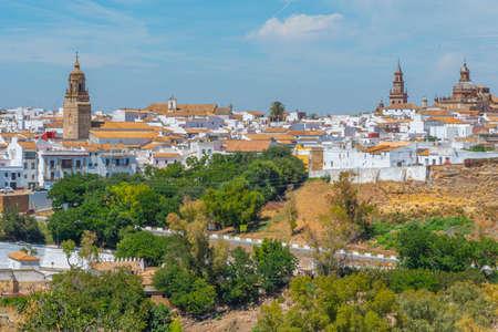 Cityscape of spanish town Carmona