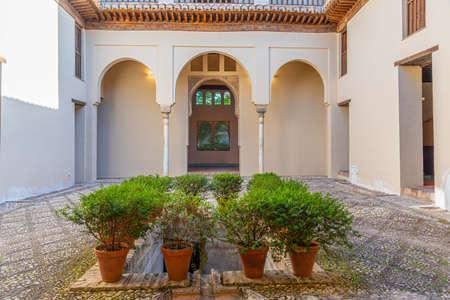 Palacio de Dar al-Horra in Spanish city Granada Editorial