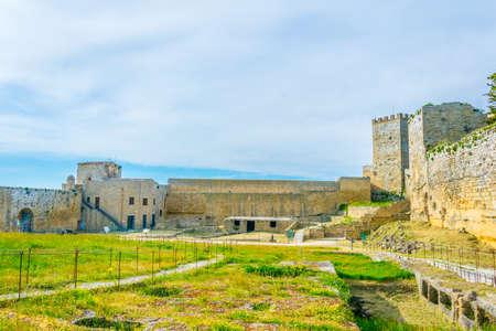 Castello di Lombardia in Enna, Sicily, Italy