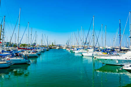 Marina at Larnaca, Cyprus 新闻类图片