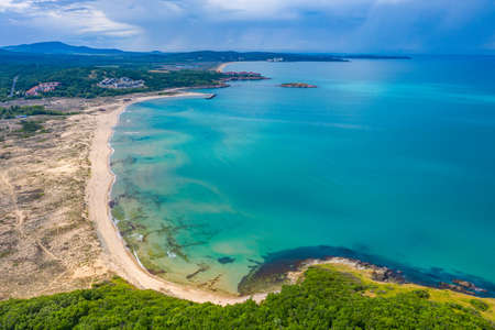 Arkutino beach near Sozopol in Bulgaria