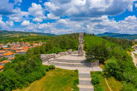 National memorial complex Apriltsi in Panagyurishte in Bulgaria Stock fotó
