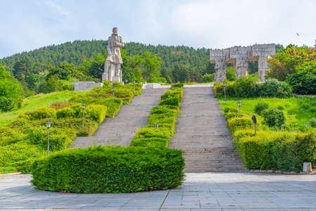 National memorial complex Hristo Botev in Kalofer in Bulgaria Stock fotó