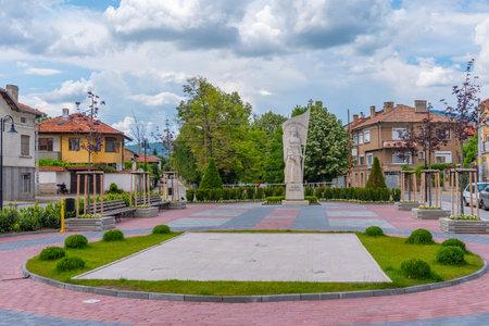 Statue of Rayna Knyaginya at Pangyurishte, Bulgaria
