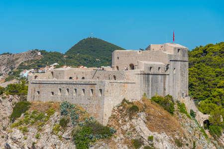 Lovrijenac fortress in Dubrovnik, Croatia Stock fotó