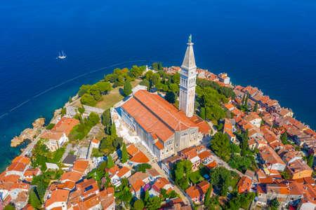 Saint Euphemia church in Croatian town Rovinj