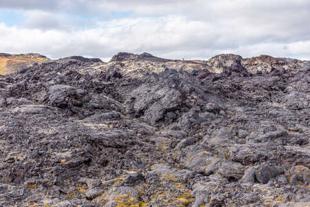 Krafla lava fields at Leirhnjukur on Iceland
