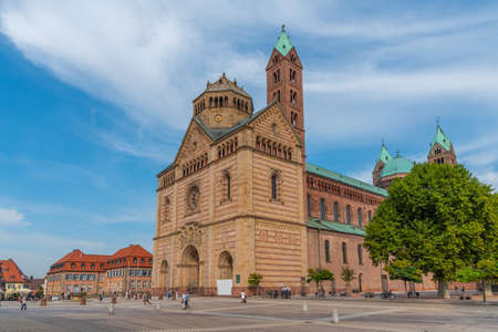 View of the cathedral in Speyer, Germany Standard-Bild