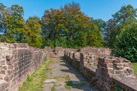 Ruins of Monastery of St. Michael in Heidelberg, Germany 免版税图像 - 164742174