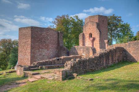 Ruins of Monastery of St. Michael in Heidelberg, Germany 免版税图像 - 164742175
