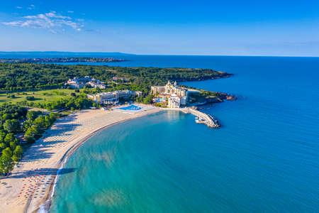 Aerial view of Dyuni resort in Bulgaria