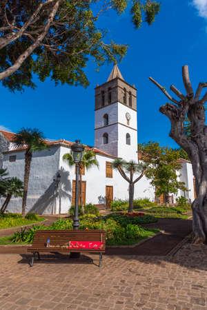 Church of Mayor de San Marcos in the old town at Icod de los Vinos, Tenerife, Canary islands, Spain.