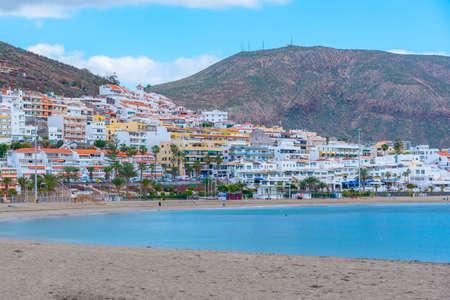 Playa de las Vistas at Tenerife, Canary islands, Spain. Editorial