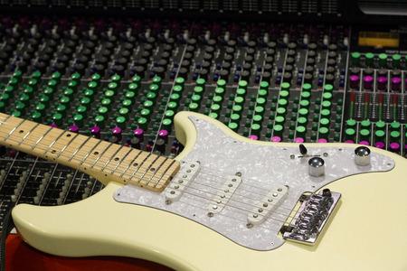 pickups: Guitar on Mixing Desk