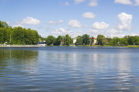 Top lake in Kaliningrad