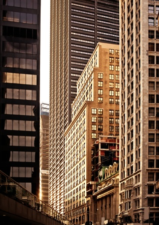 Buildings in Downtown New York photo