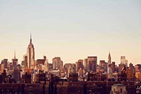 new office space: New York city skyline