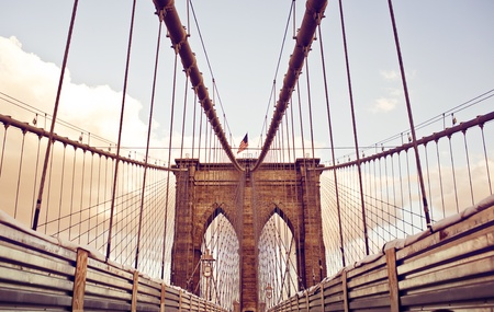 Brooklyn Bridge in New York photo