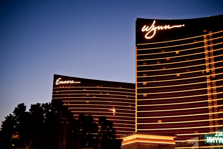 country club: LAS VEGAS - JULY 14: Wynn and Encore Las Vegas Resort and Country Club located on the Las Vegas Strip on July 14, 2011 in Las Vegas. Wynn opened on April 28, 2005 and cost US$2.7 billion to build