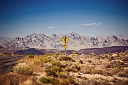 Dantes View, Death Valley National Park, California photo