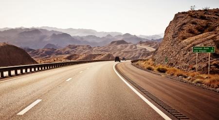Road to Las Vegas Banco de Imagens - 15893845