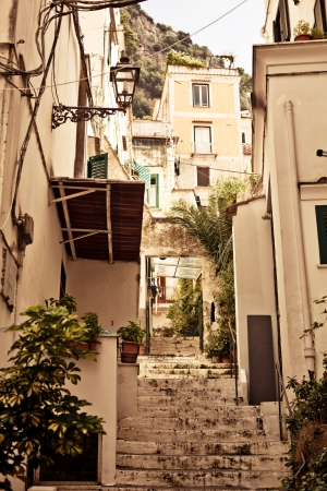 Amalfi backyard lifestyle, Italy  photo