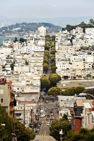 Lombard Street, San Francisco photo